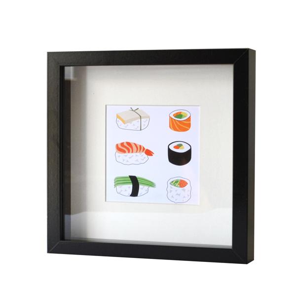 Quadretto Ricetta Sushi