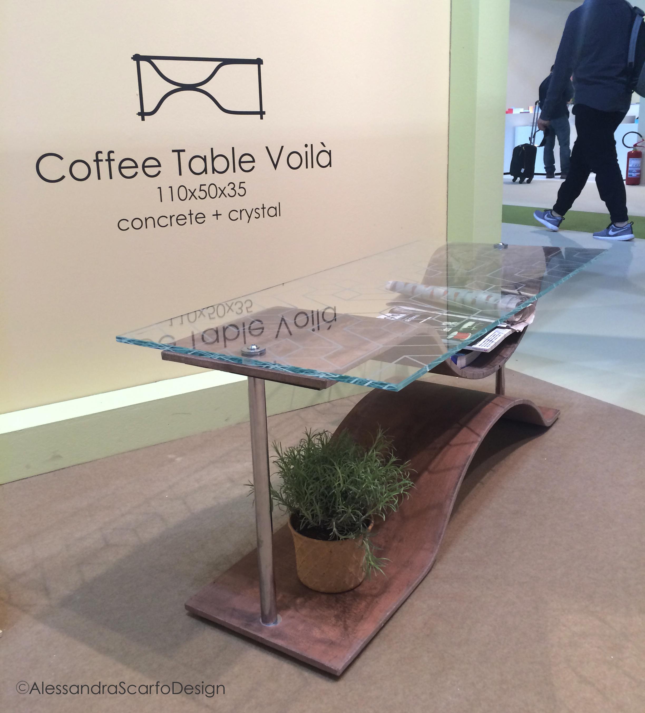 Voilà tavolino da caffè