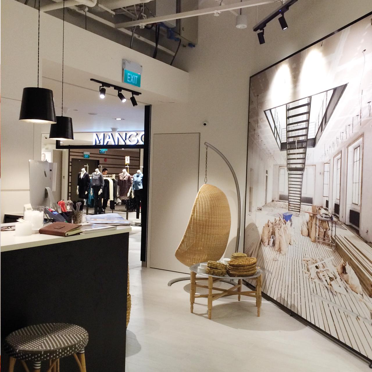 Progettazione interni negozi