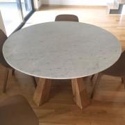 tavolo rotondo marmole